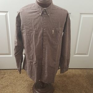 Columbia size XL button front shirt long sleeve